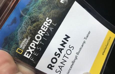 NatGeo Explorers Festival - Rosann Santos Bilingual Coach & Speaker